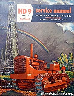 AC-S-HD9 Allis Chalmers HD9 Diesel Crawler Service Manual