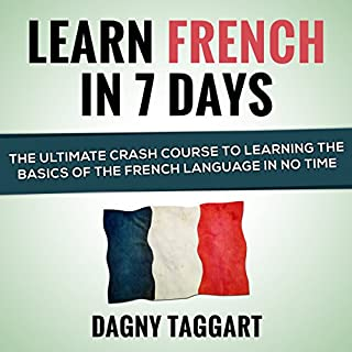 Learn French in 7 Days! audiobook cover art