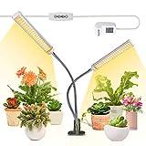 Pflanzenlampe LED, 100W Pflanzenlicht, 210 LEDs Vollspektrum Pflanzenleuchte für Zimmerpflanzen, Wachstumslampe mit...