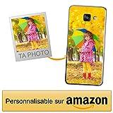 Coverpersonalizzate.it Coque Personnalisable pour Samsung Galaxy A3 2016 avec ta Photo, Image ou Inscription. Étui Souple en TPU Gel Transparent. Impression de qualité supérieure