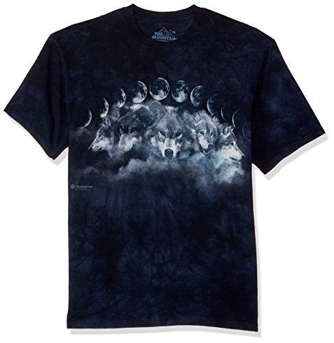 The Mountain Herren Wolf Cycles T-Shirt, blau, XX-Large