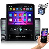 Best Apple Stereo For Car With Backup Camera - 2021Camecho Double Din Car Stereo 9.5 Inch Vertical Review
