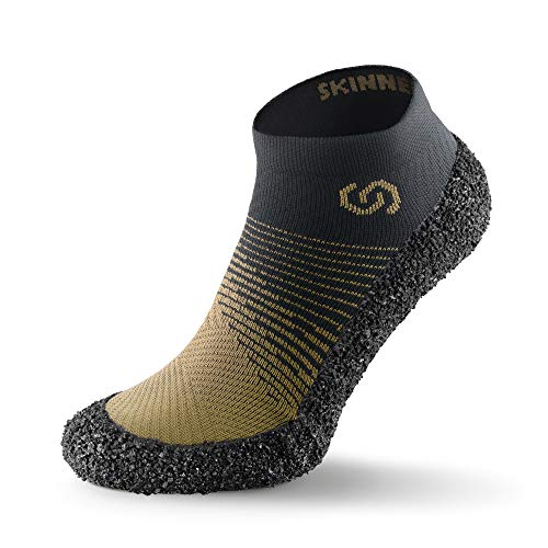 Skinners 2.0 Moss  Unisex Minimalistische Barfußschuhe für Damen & Herren   Minimalist Barefoot Socks/Shoes for Men & Women