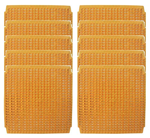 Rite Farm Products 10 Pack of Washable Poly Nesting Box PAD MAT Bottom for Chicken COOP Hen House Poultry Duck NEST Liner