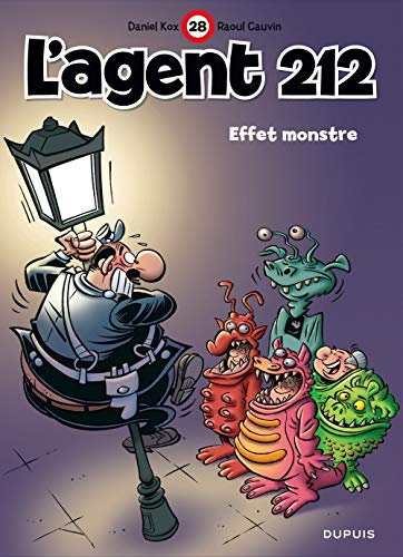 L'agent 212, tome 28 : Effet monstre