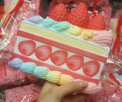 ibloom Japan Jumbo Princess Shortcake Squishy Rainbow Slow Rising