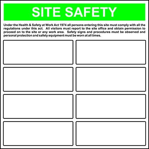 Spectrum Industrie 36.855,4cm Ihre eigenen Website Sicherheit Vorlage Nicht selbstklebend PVC, Mehrfarbig, 650x 650mm
