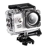 Tangxi Mini DV Videocamera Sportiva, 2 Pollici Action Camera da Ciclismo Impermeabile ad A...