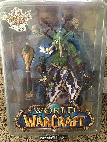 World of Warcraft Jungle Troll Priest 10  Figure moc New Soft Toys