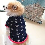 MDKAZ Camiseta Perro Cachorro con Estampado Garras Dibujos Animados Camiseta Verano para Cachorro Chaleco Bonito para Cachorro Camiseta para Perro Disfraz otoño para Mascotas Ropa Abrigo-M