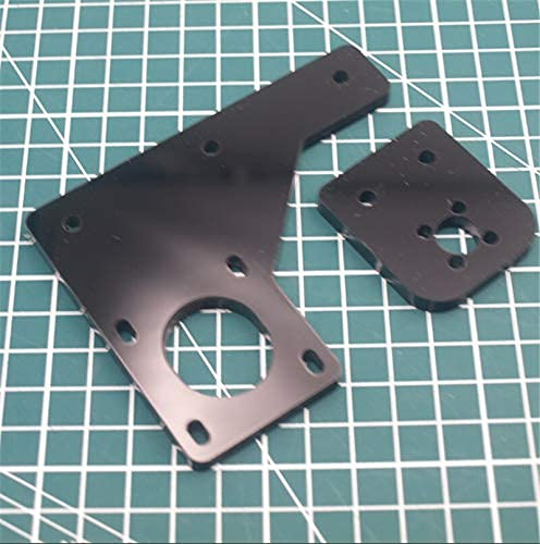 Neigei 1pcs Acrylic Dual Z Axis Upgrade TR8 Lead Screw Motor Mount Plate Kit For HE3D/Tevo Tarantula 3D Printer Parts 6mm Thick