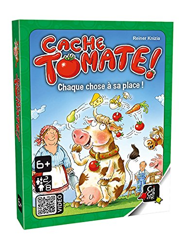 GIGAMIC zoeca–Kartenspiel–Cache Tomate
