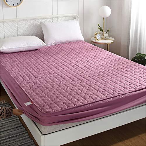 YCDZ Funda protectora de colchón, antialérgica, transpirable, antiinsectos y ácaros, sin olor, apto para todo tipo de cama (pasta de frijol de colmillos, 120 x 200 x 20 cm)
