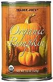 Trader Joe's Organic Canned Pumpkin (1 Can) 15 Oz