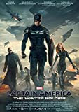 CoolPrintsUK Captain America The Winter Soldier Poster