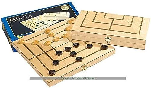 calidad garantizada Philos Nine Mens Morris - wooden folding folding folding board by Philos  hermoso