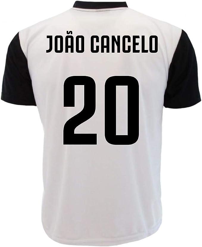Maglia Joao Cancelo 20 T-Shirt Juventus Replica Neutra ...