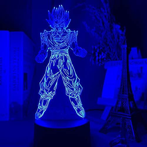3D Night Lamp Led Anime Figure Atmosphere for Child Bedoom Decor Nightlight Bedside Gift