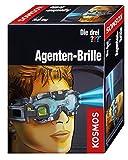 Kosmos Die drei ??? Agenten-Brille, mit integrierter Doppel-LED zur Beleuchtung im Dunkeln, Visier vorklappbar mit Such-Linse und Vergrößerungs-Linse, Detektiv-Spielzeug, Agenten-Ausrüstung für Kinder
