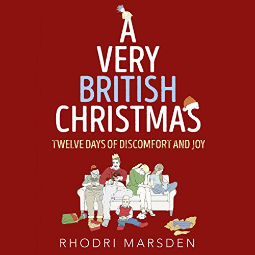 A Very British Christmas audiobook cover art