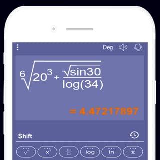 Calculator app (Scientific casio fx)
