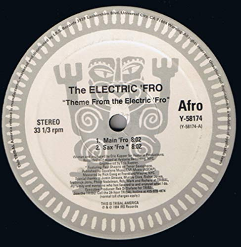 Eric Kupper & Electric Fro, The & Paul Shapiro - Theme From The Electric 'Fro - TRIBAL America