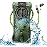 FLZXSQC Bolsa de hidratación para depósito de agua de poliuretano termoplástico (TPU), kit de tubo para ciclismo al aire libre, mochila para correr, bolsa de agua, chaleco de vejiga (color: azul)