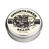 Magic Beard Balm Leave-in Conditioner by Mountaineer Band | Natural Oils, Shea Butter, Beeswax Nourishing Ingredients | 2-oz WV Pine Tar Scent