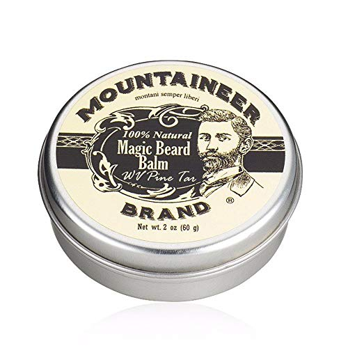 Magic Beard Balm Leave-in Conditioner by Mountaineer Band | Natural...