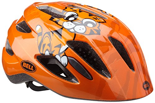 Bell Kinder Fahrradhelm , orange tiger , 47-53 cm
