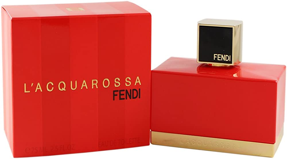 Fendi l`acquarossa, acqua di profumo per donna,spray, 50 ml fendi002