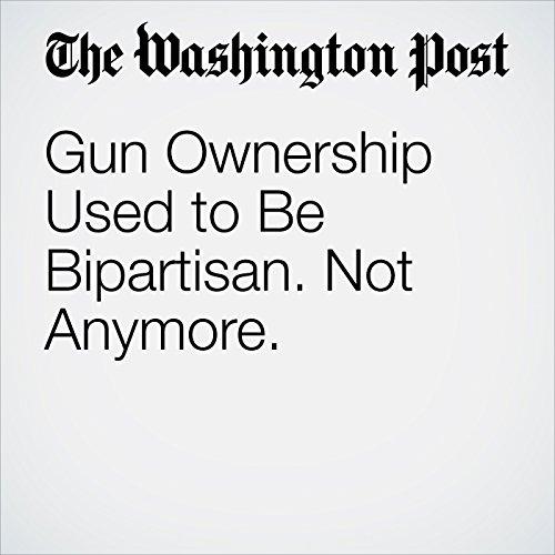 Gun Ownership Used to Be Bipartisan. Not Anymore. copertina
