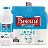 Pascual – Leche Semidesnatada Bienestar Animal – 6 x 1,2L