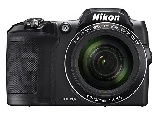 Nikon COOLPIX L840 Digital Camera with 38x Optical Zoom and Built-in Wi-Fi (Black) (Renewed)