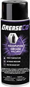 Food Grade Grease | Spray Lubricant | Grease for KitchenAid Mixer | Stand Mixer | Food Slicer | Meat Slicer Grease | Gasket Grease | Mixer Gear | Food Safe Lube | 10 OZ Aerosol Can | FoodPurpose