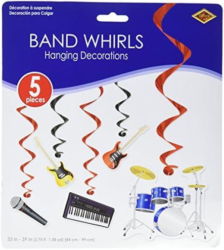 Band Whirls (5/Pkg)