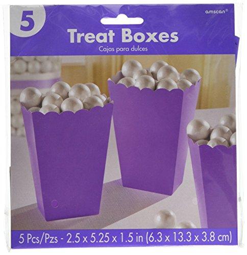 Petits contenants à pop-corn en Papier Violet