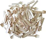 Bulk Mini Wooden Spoons -Eco Friendly Disposable Biodegradable - 3.75 Inches - 300 Pack Outside the Box Papers Brand
