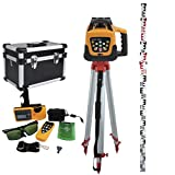 Best Rotary Laser Levels - Iglobalbuy Automatic Green Beam Rotary Rotating Laser Remote Review