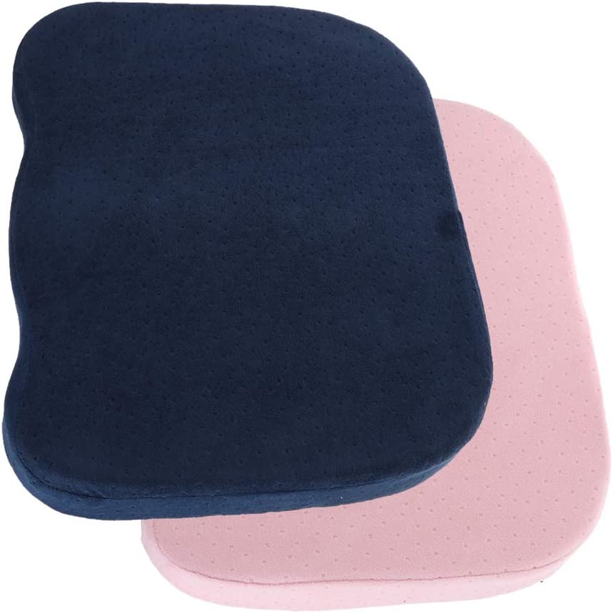 Inventory cleanup selling sale LoveinDIY 2pcs Coccyx Seasonal Wrap Introduction Tailbone Memory Cushion Seat Wit Pad Foam