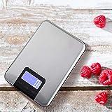 DelongKe Balanza de pesaje de Balanza de Cocina Digital, 6 U