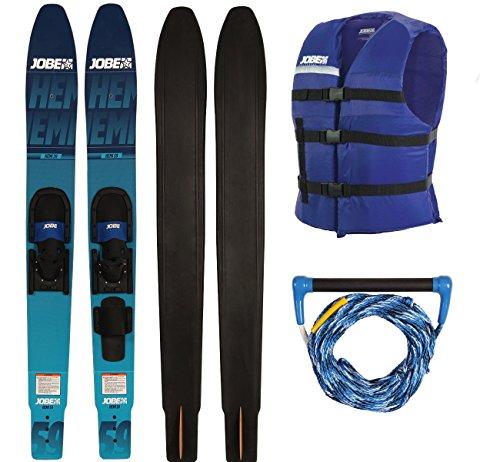 Jobe Hemi Combo Skis extra breite Wasserski Paarski Comboski Slalomski 150cm