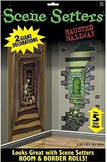 Halloween Haunted Hallways Scene Setter Add-Ons Plastic Decorations 1.65m X 85cm by Partyrama