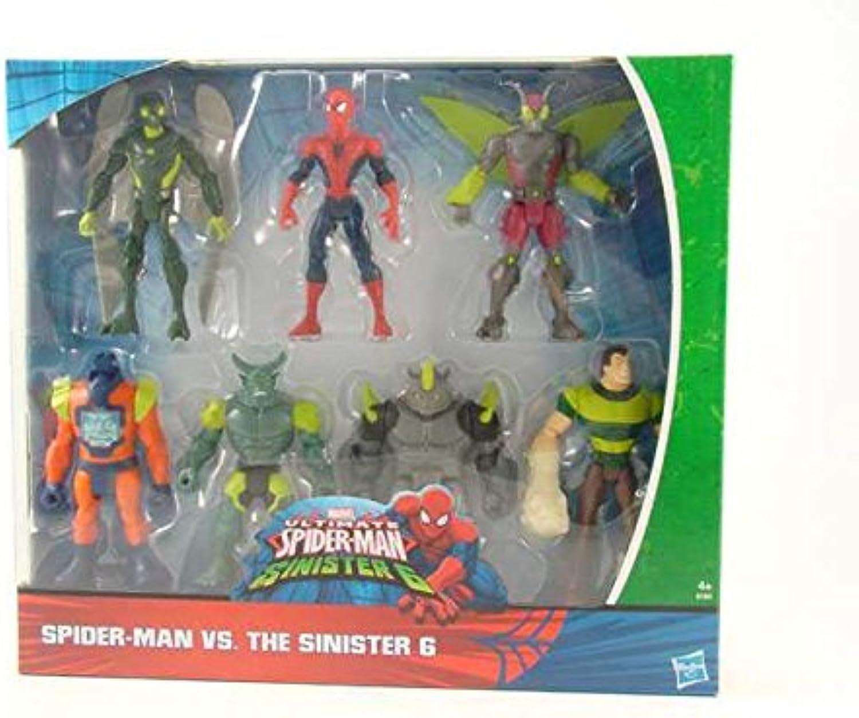 Spiderman Sinister 7Pack Spielzeug Geschenk   AG17