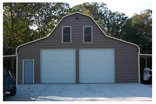 Lowest Prices! DuroSTEEL Janus 9'x10' Insulated Commercial 1000i Series Metal Roll Up Door & Hardwar...