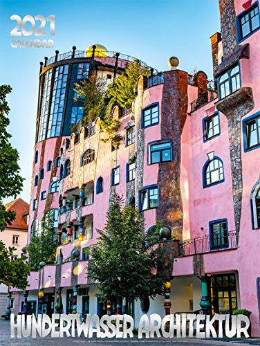 Großer Hundertwasser Architektur Kalender 2021