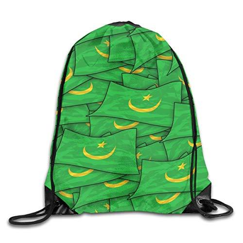 Jiger Ghana Flag Puzzle Drawstring Backpack Bag Rucksack Shoulder Sackpack Sport Gym Yoga Runner Beach Hiking Dance