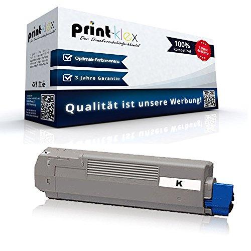 1x kompatible Tonerkartusche für OKI C-610CDN C-610DN C-610DTN C-610N Black Schwarz 44315308