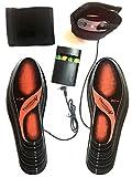 Beheizbare Einlegesohlen Thermosohlen mit Zwei Warmstufen, Größe: 36-47(zuschneidbar), waschbar - 3