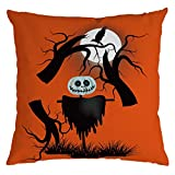 Beonzale Halloween Ghost Kissenbezug Sofa Waist Throw Dekokissenbezug Sofakissenbezug Home Decor